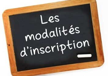 INSCRIPTIONS le 1er SEPTEMBRE 2018